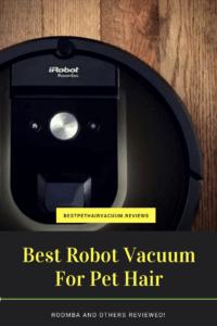 Robot Vacuum on hardwood floor